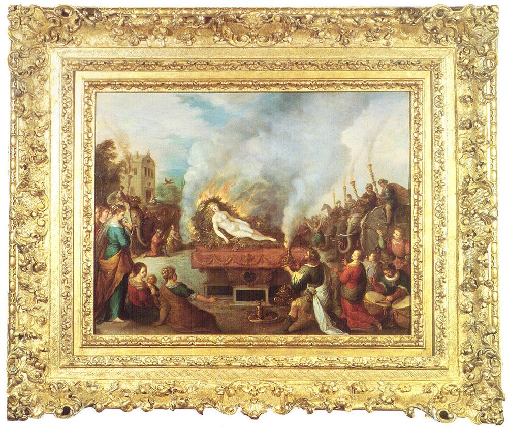 La muerte de Koronis Frans Francken II