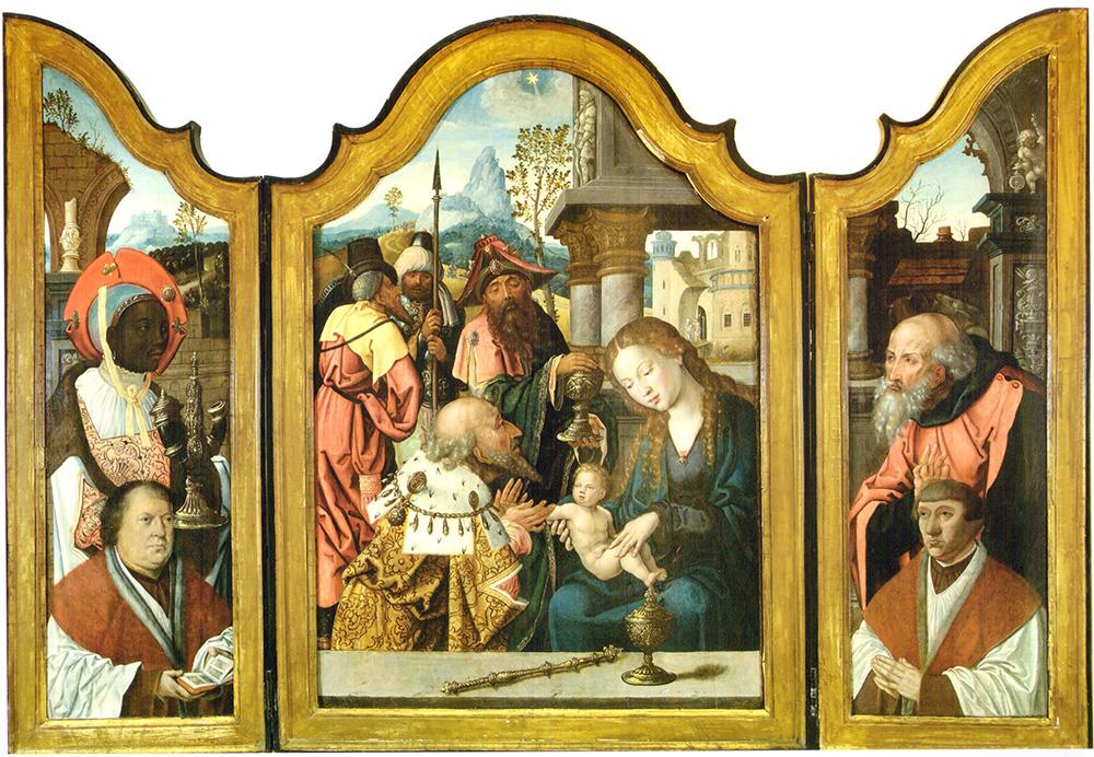 Adoración de Reyes Pieter Coecke Van Aelst