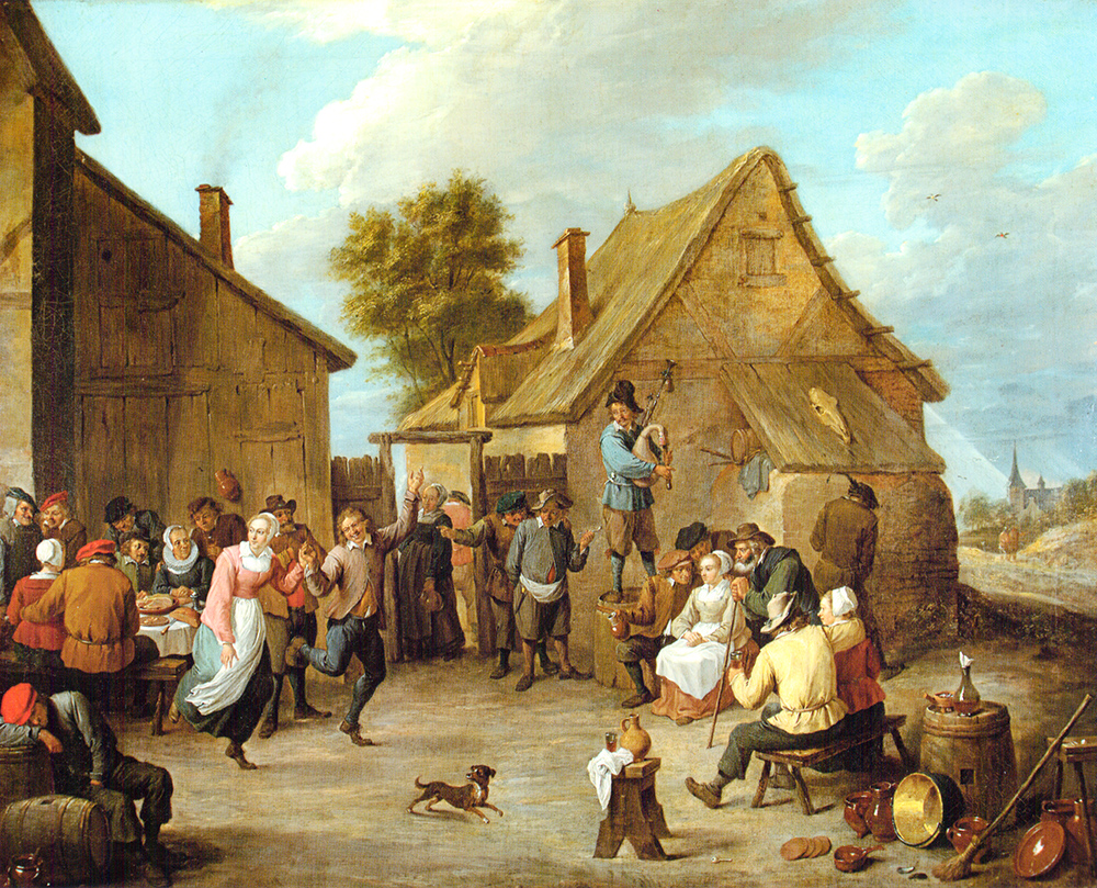 Fiesta aldeana David Teniers y Taller