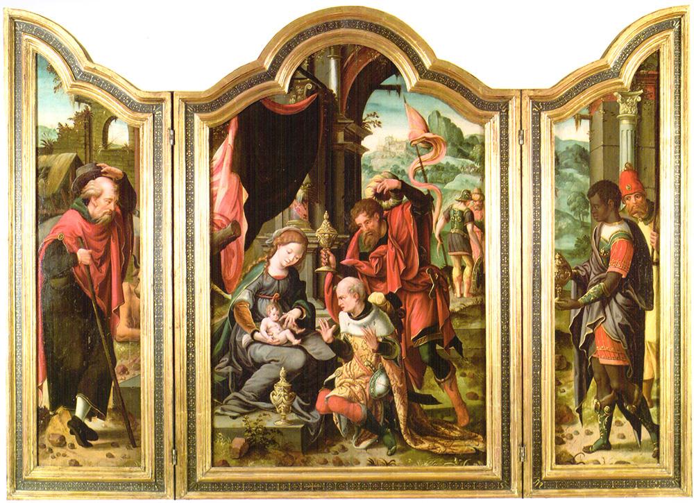 Adoración de los Reyes Maestro de Santa Anna Hofje