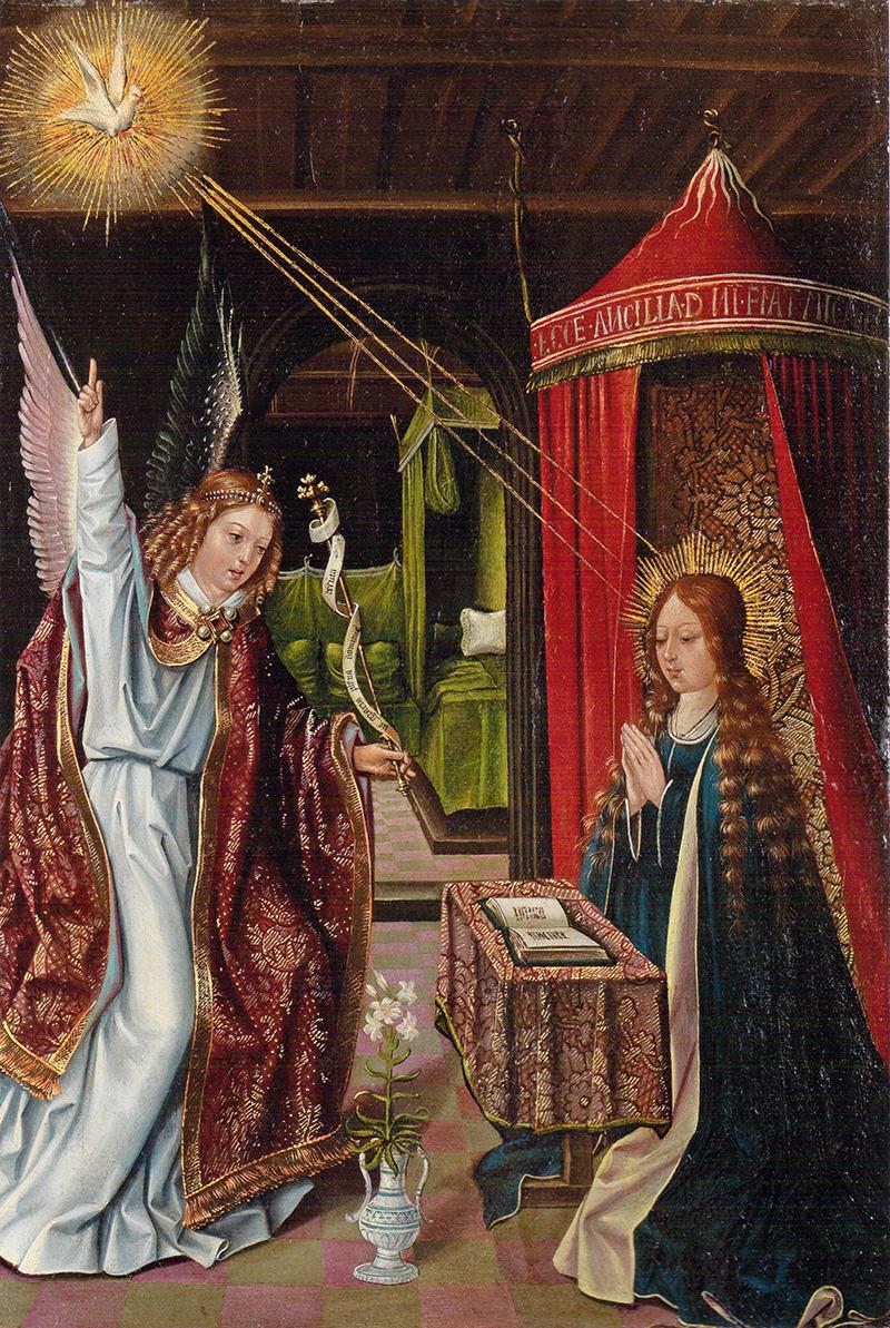 Anunciación Diego de la Cruz o Maestro de San Nicolás (Diego del Corral)?