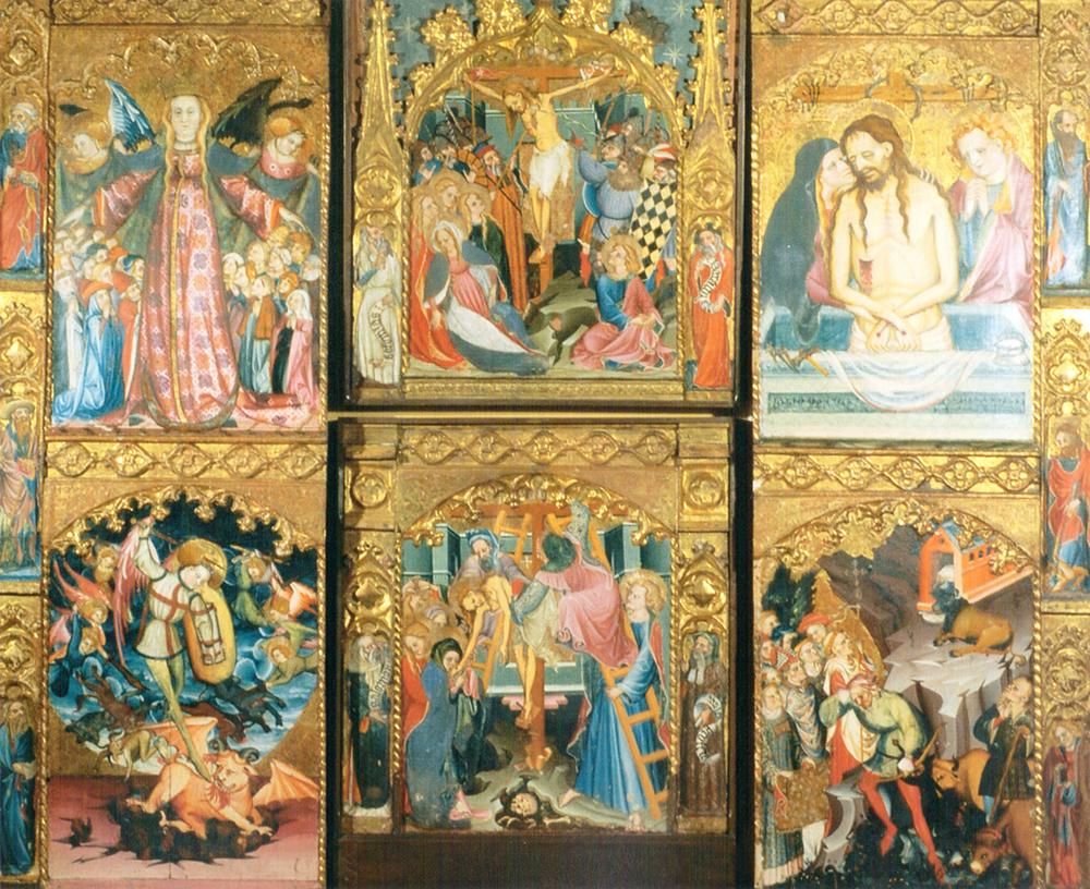 Retablo de San Miguel Juan de Levi